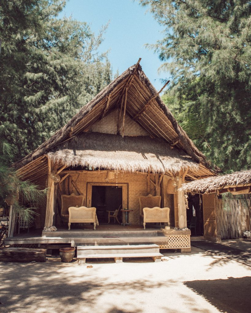 Best accomodation in Gili Meno