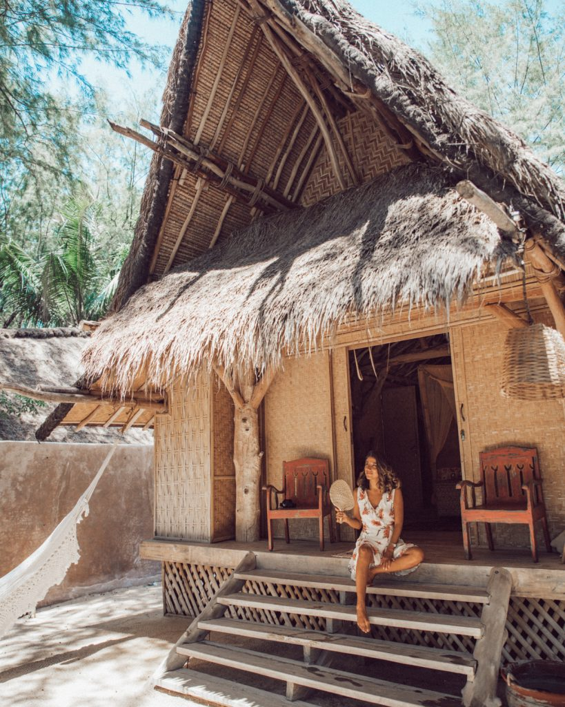 Best accomodation in Gili Meno. Island houses
