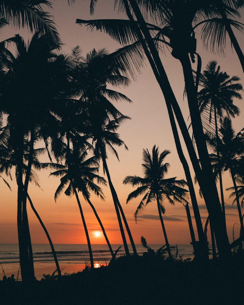 Sunset spots in Bali