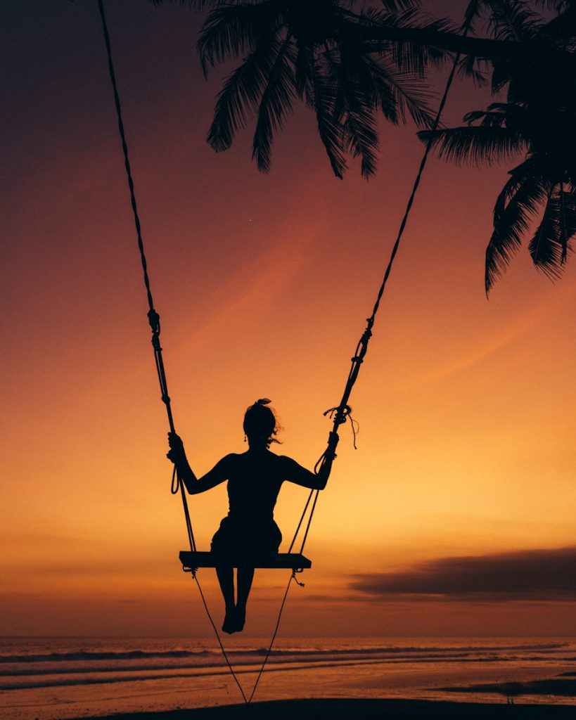 Pasut beach swing