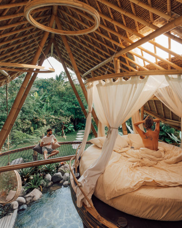 Maya Gypsy Hideout Bali Bamboo boutique accomodation