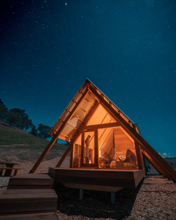 Stargazing at Kimo estate gundagai