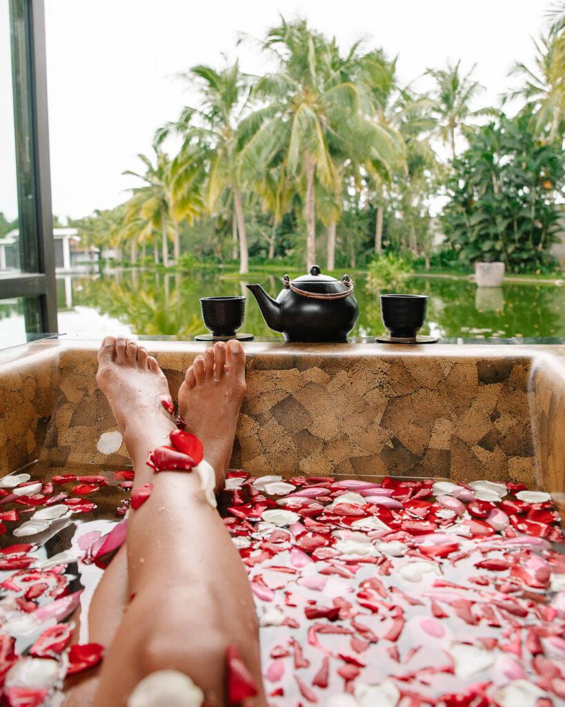 Beautiful spa at Four Seasons Hoi An