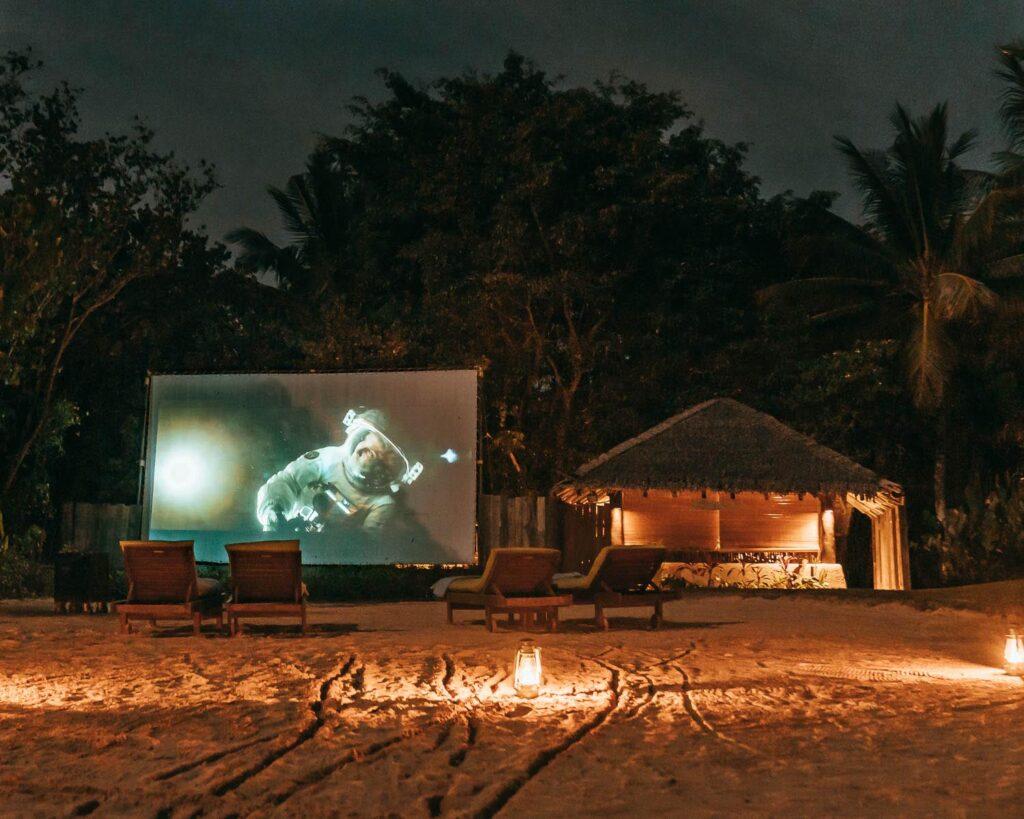 Moonlight cinema six senses hotel