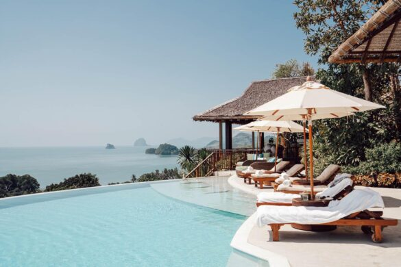 Six Senses pool yao noi thailand