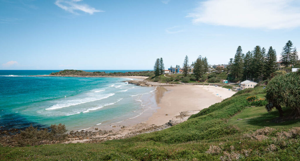 The Kiosk main beach Yamba
