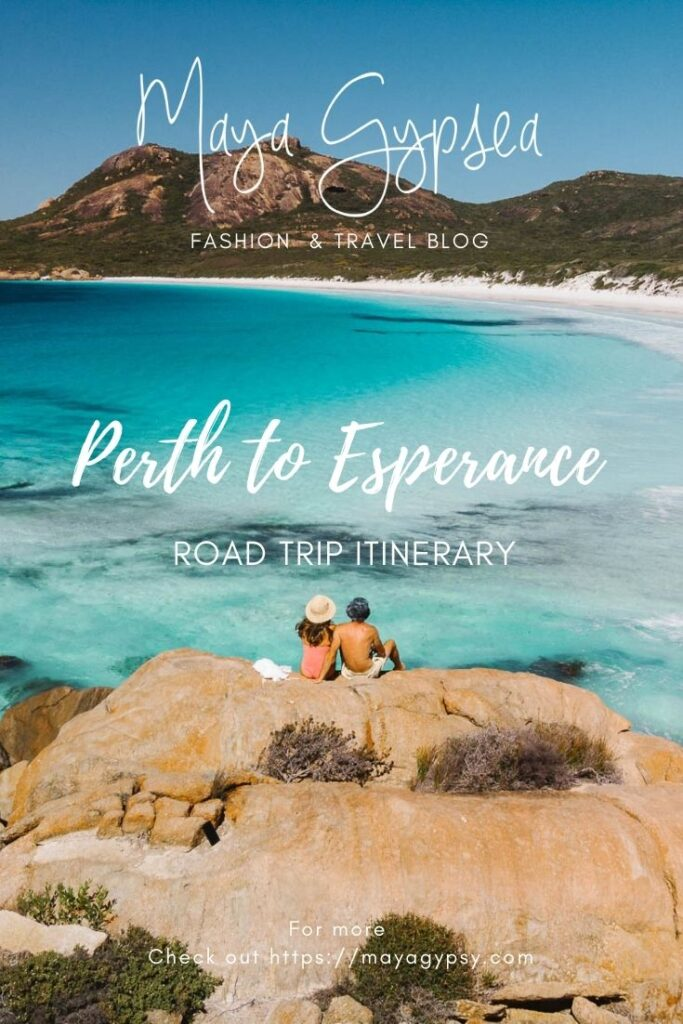 Perth to Esperance road trip itinerary