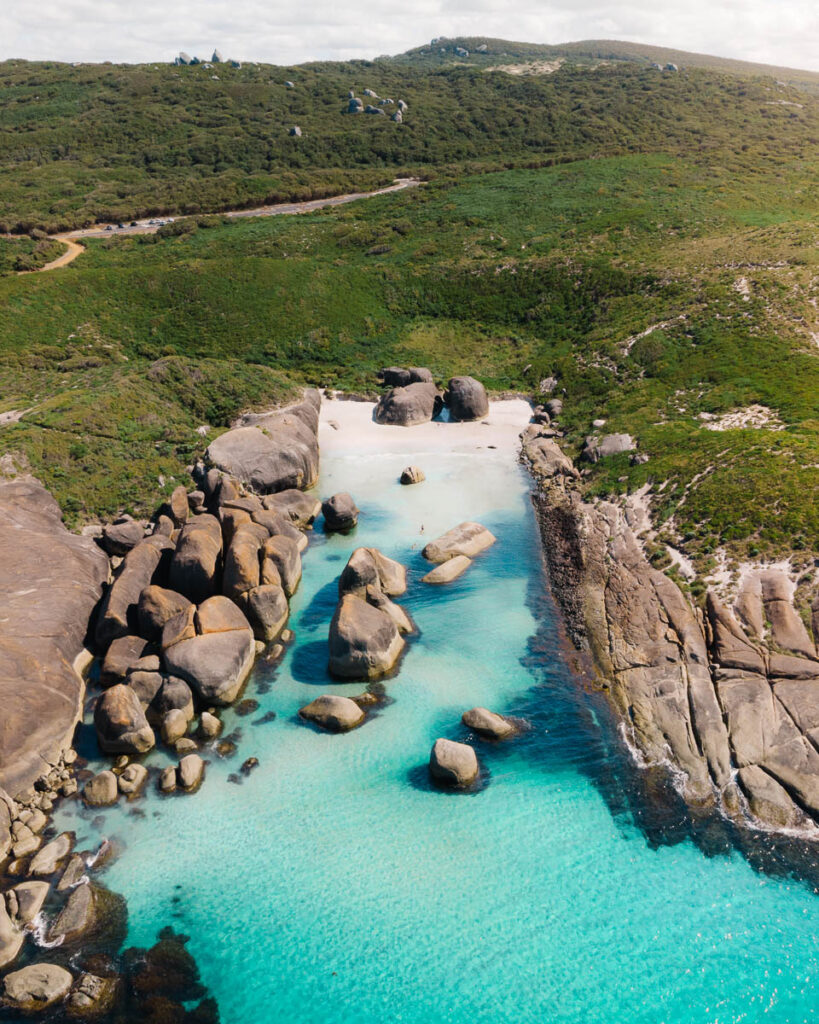 Perth to Esperance road trip itinerary - Elephant rocks