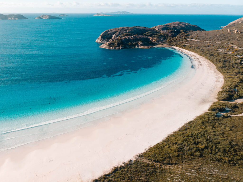 Perth to Esperance road trip itinerary - Lucky Bay