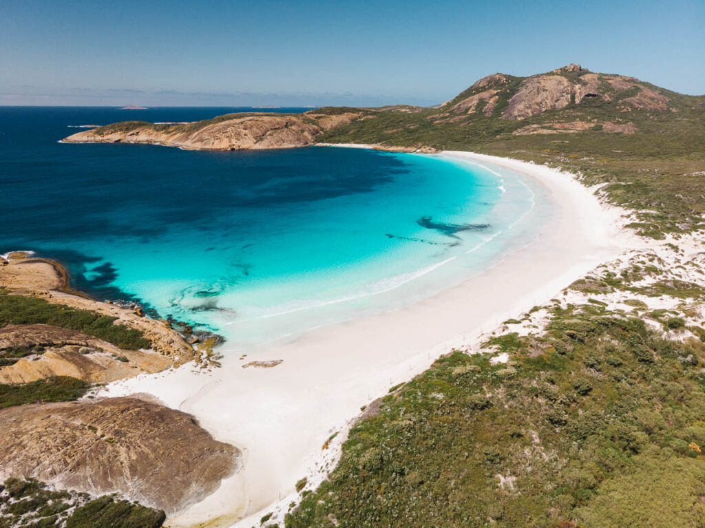 Perth to Esperance road trip itinerary - Thistle cove