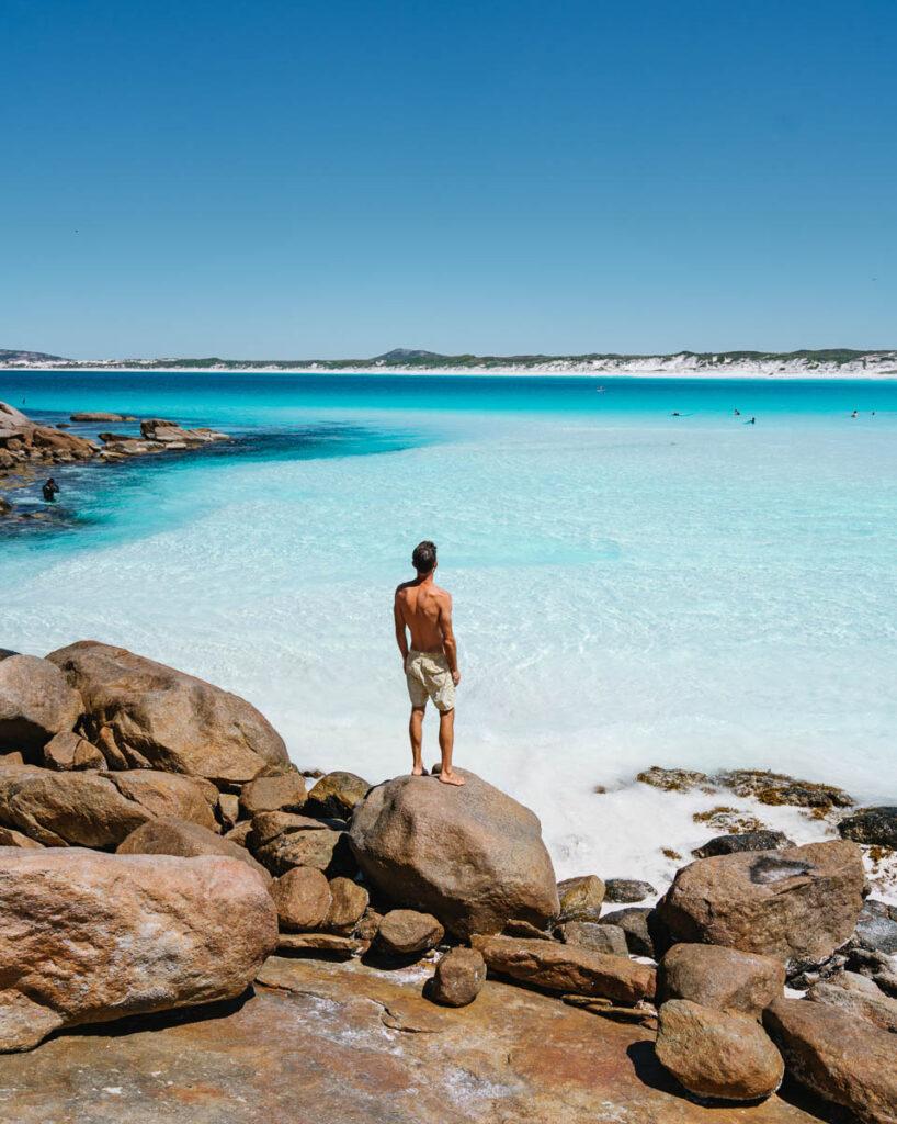 Perth to Esperance road trip, Wharton Beach