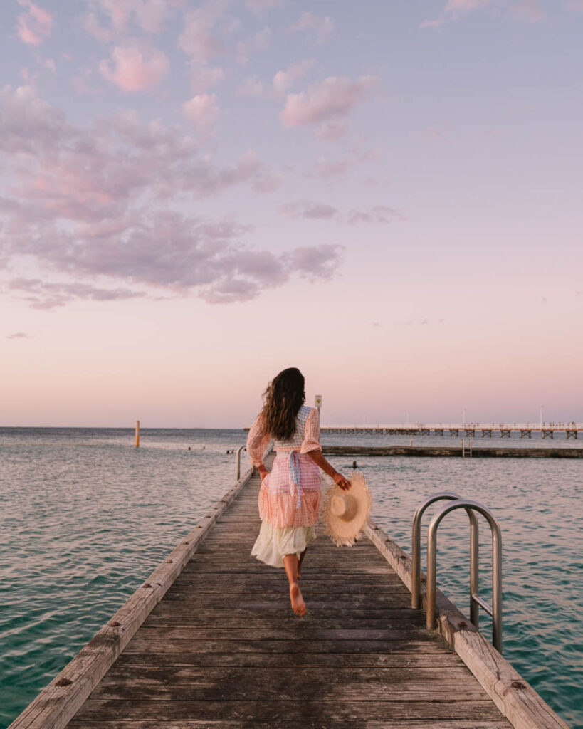 Busselton Jetty Perth to Esperance road trip itinerary -  Busselton city