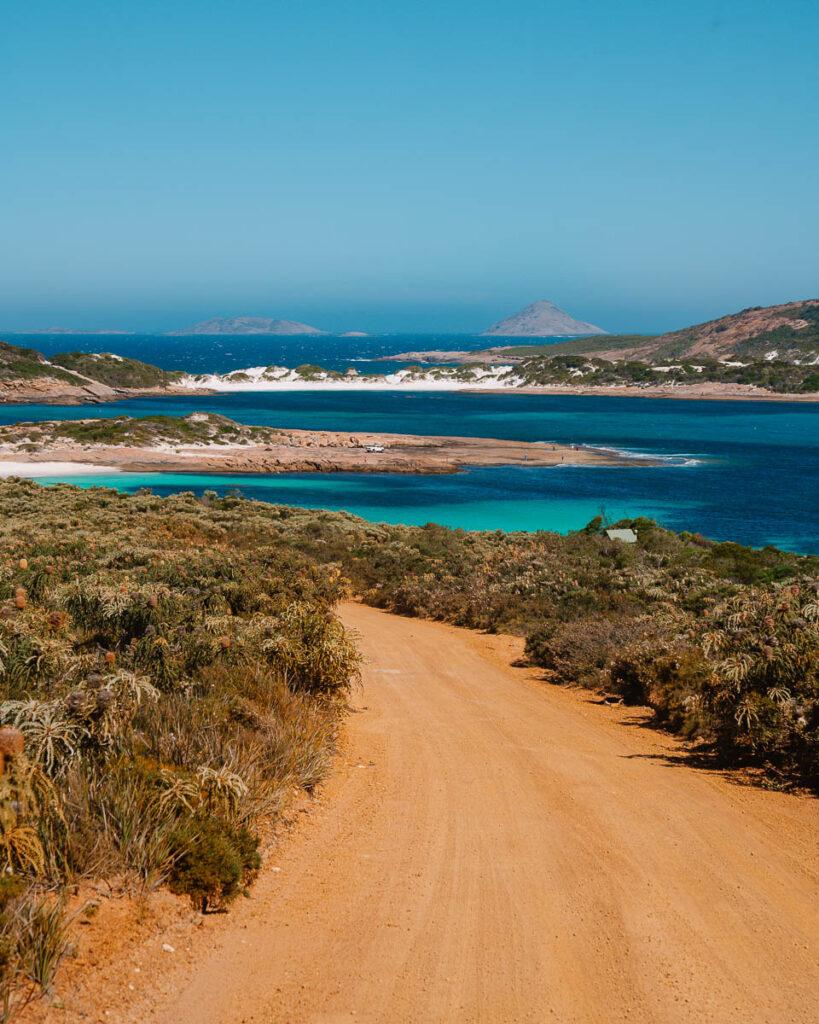 Perth to Esperance road trip, Duke Of Orleans bay, Wharton Beach