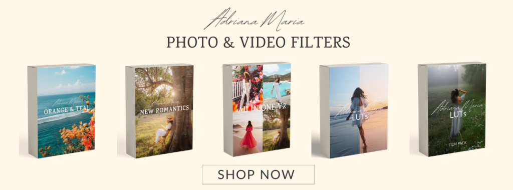 Adriana Maria Presets photo & Video filters Luts