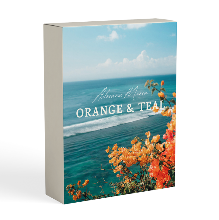 orange and teal presets photo filters